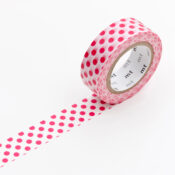 mt Washi Tape - Dot Red