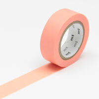 mt Washi Tape - Salmon Pink