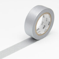 mt Washi Tape - Silver