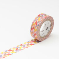 mt Washi Tape - Slash Red
