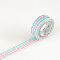 mt Washi Tape - Square Pink