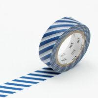 mt Washi Tape - Stripe Marine Blue