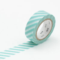 mt Washi Tape - Stripe Mint