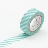 mt Washi Tape - Stripe Mint
