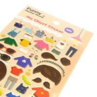 My Closet Dress-Up Puffy Stickers