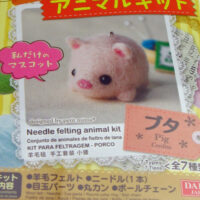 Needle Felting Kit - Pig