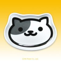 Neko Atsume Die-Cut Melamine Mini Tray - lexy