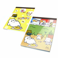 Neko Atsume Kitty Collector A6 notepad
