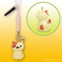 Neko Atsume Kitty Collector Phone Charm - Peaches