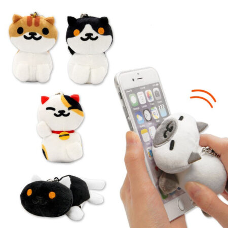 Neko Atsume Kitty Collector Plush Charm -  Pumpkin
