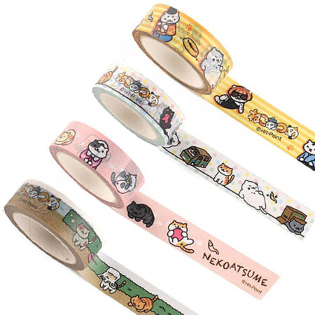 Neko Atsume Kitty Collector Washi Tape - Ver 1