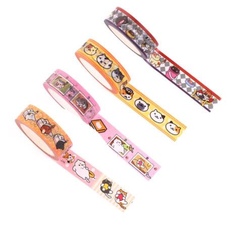 Neko Atsume Kitty Collector Washi Tape - Ver 2