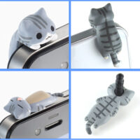Nekomura Cat Earphone Jack Accessory