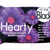 Hearty Super Lightweight Modelling Clay - Black 50g