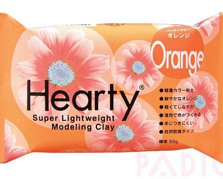 Hearty Super Lightweight Modelling Clay - Orange 50g