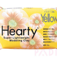 Hearty Super Lightweight Modelling Clay - Yellow 50g