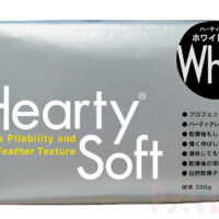 Hearty Soft Modelling Clay - White 200g