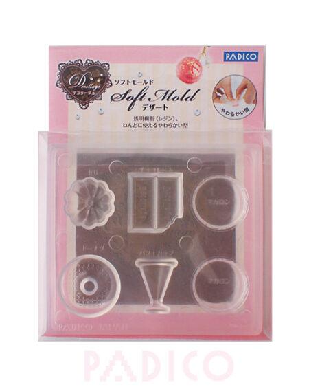 Padico Soft Clay Mold - Dessert