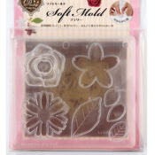 Padico Soft Clay Mold - Flower