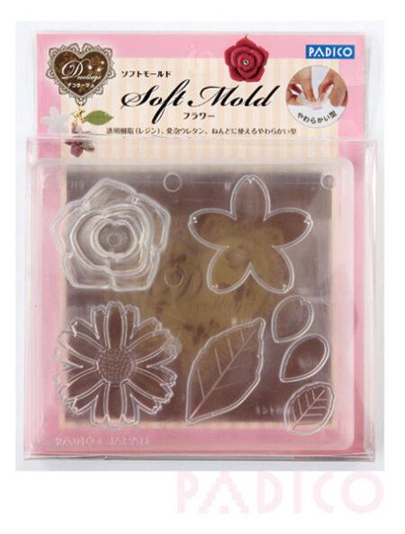 Padico Soft Clay Mold - Flower