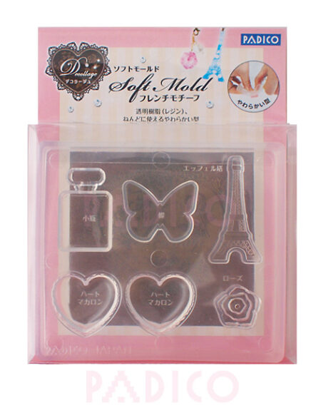 Padico Soft Clay Mold - French Motif