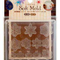 Padico Soft Clay Mold - Snow Crystal