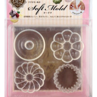 Padico Soft Clay Mold - Doughnuts