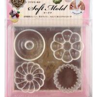 Padico Soft Clay Mold - Doughnuts