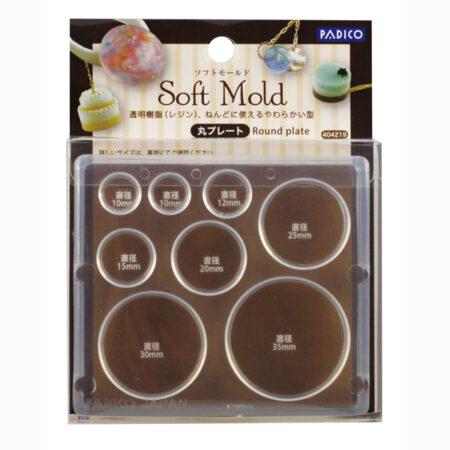 padico_soft_clay_round_plate_mold