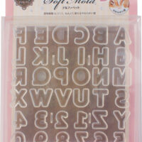 Padico Soft Clay Mold - Alphabet