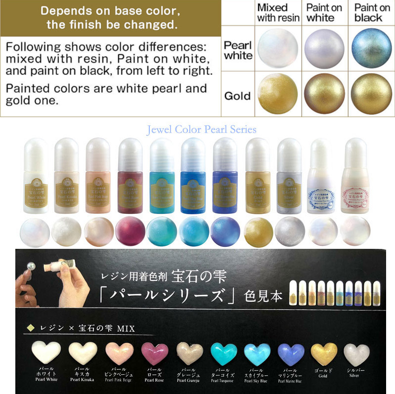 Padico UV & UV-LED Resin Jewel Colour - Pearl Rose   £6 99   buy at  Something kawaii UK