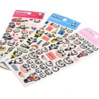 Panda 3D Sponge Stickers