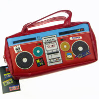 Retro Cassette Player pencil Case