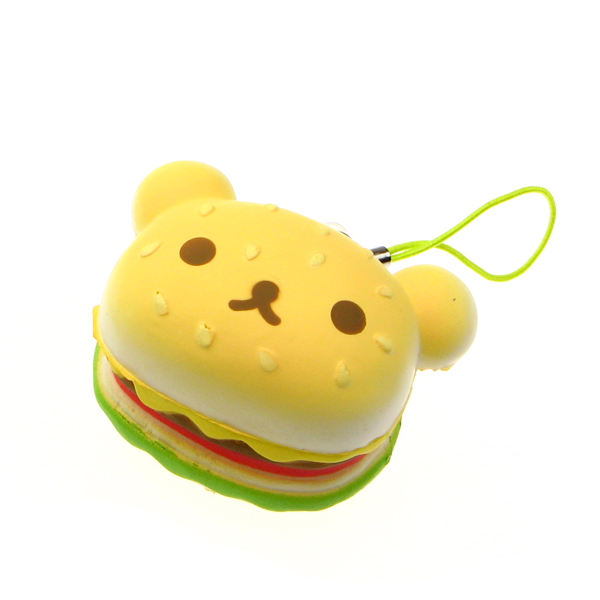 Squishy Hamburger : Rilakkuma Hamburger Squishy Charm ?3.99 buy at Something kawaii UK