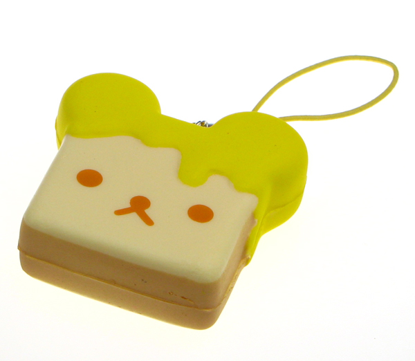 Rilakkuma Tag Squishy Supplier : Rilakkuma Honey Bread Squishy Charm ?2.99 buy at Something kawaii UK