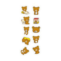 Rilakkuma Seal Die Cut Sticker Sack