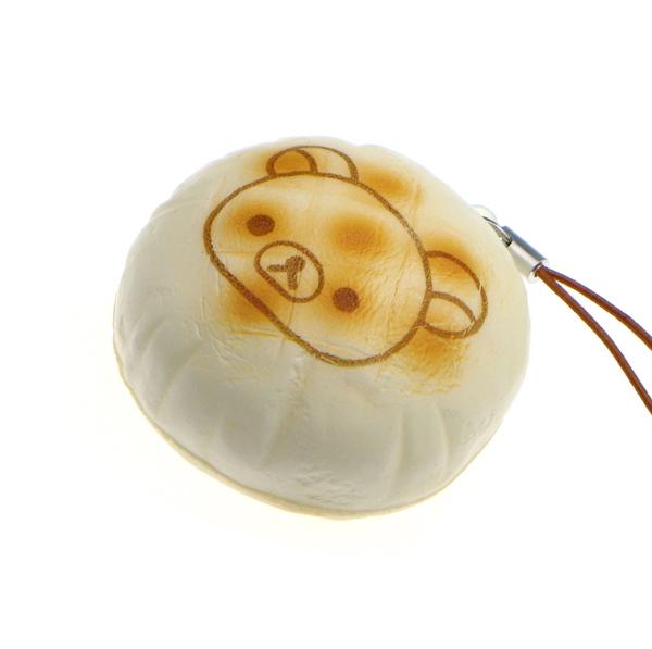 Steam Bun Squishy Kawaii Land : Rilakkuma Steamed Bun Squishy Charm ?2.99 buy at Something kawaii UK