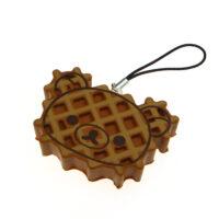Rilakkuma Waffle Squishy Charm