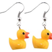 Rubber Duck Drop Earrings