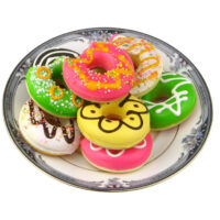 Doughnut Squishy Phone Charm