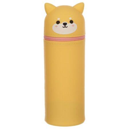 shiba_inu_silicon_ stand_up_pencil_case