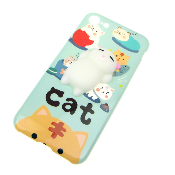 Squishy Cat For Phone Case : Squishy 3D kawaii Cat iphone Case ?6.99 buy at Something kawaii UK
