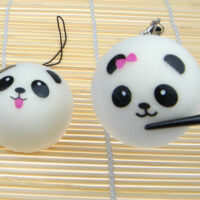 Squishy Scented Panda Steam Bun - Small