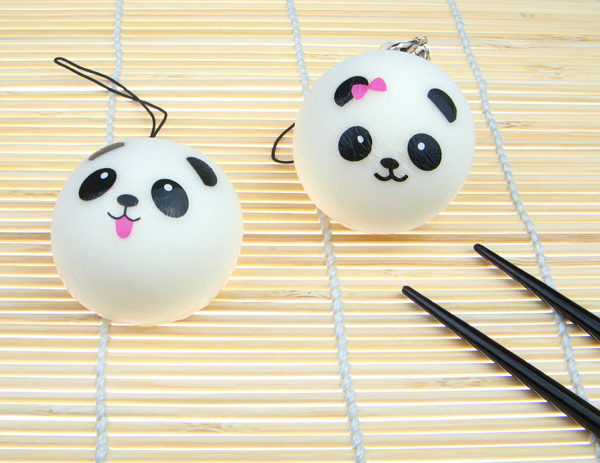 Steam Bun Squishy Kawaii Land : Squishy Scented Panda Steam Bun - Small ?1.99 buy at Something kawaii UK
