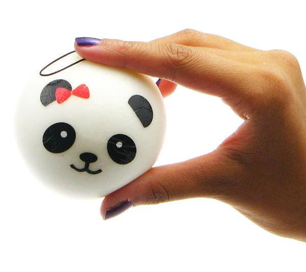 Squishy Steam Bun : Squishy Scented Panda Steam Bun - Big ?2.99 buy at Something kawaii UK