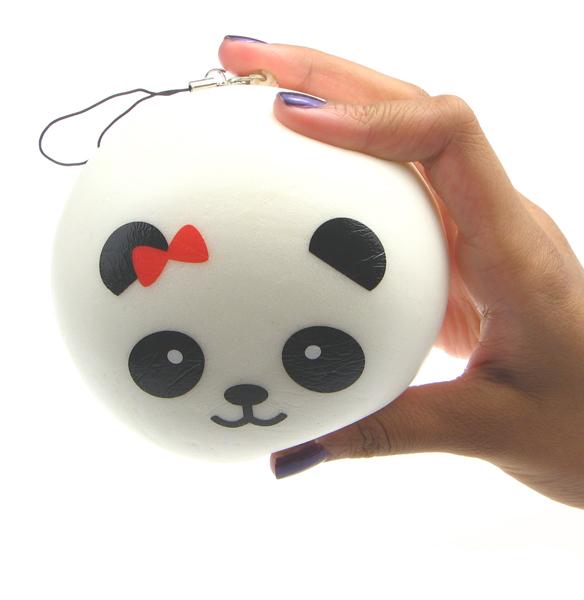 Squishy Steam Bun : Squishy Scented Panda Steam Bun - Jumbo ?5.99 buy at Something kawaii UK