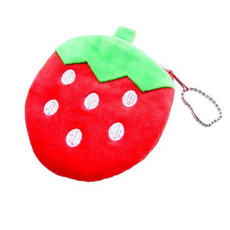 Strawberry Plush purse