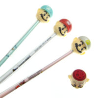 Super Mario Gel Pen With Stamp
