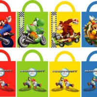 Super Mario shopper Bags