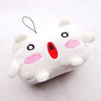 Tofu Baby Plush Phone Charm